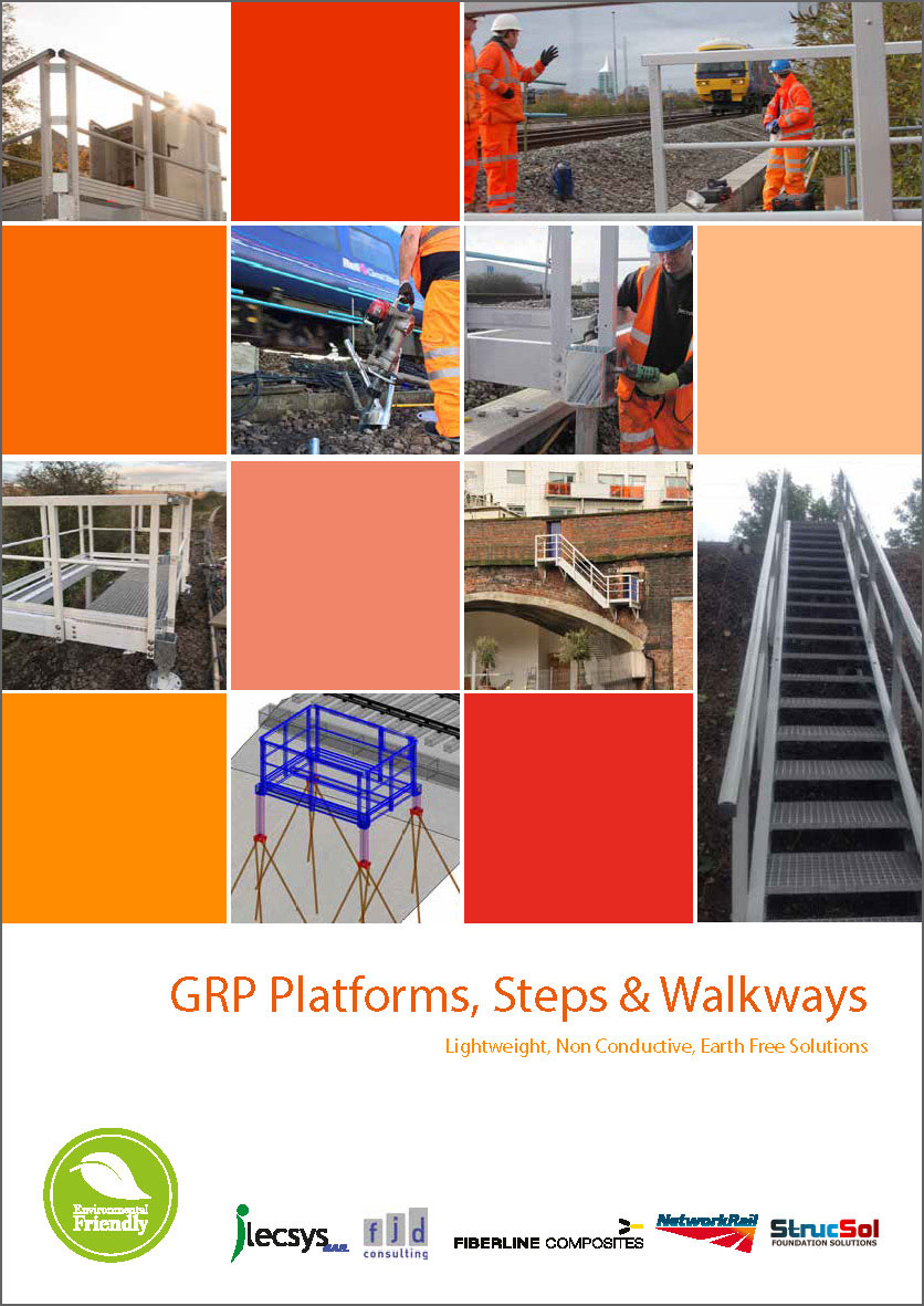 GRP Platforms, Steps & Walkways
